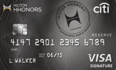 Citi Hilton HHonors, hilton city card, hilton visa