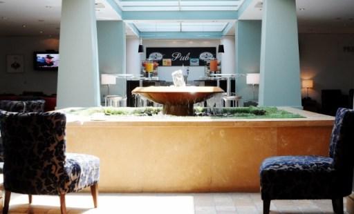 British Airways Terraces Lounge Fountain