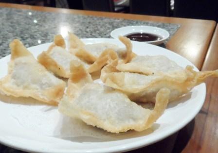 Din Tai Fung Bangkok fried pork wontons