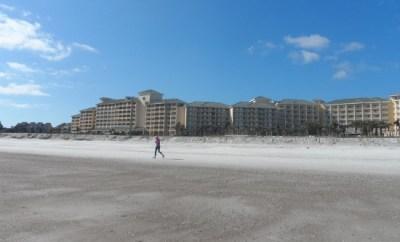Omni Amelia Island Plantation Resort  view from beach