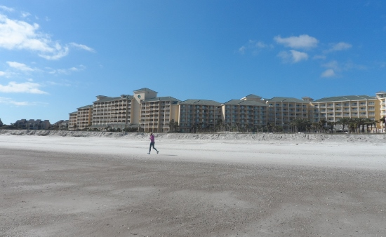 Omni Amelia Island Plantation Resort  view from beach