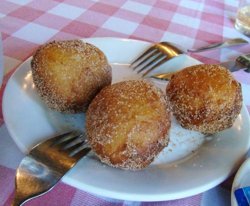 Macau Fernando Restaurant Malasadas donuts