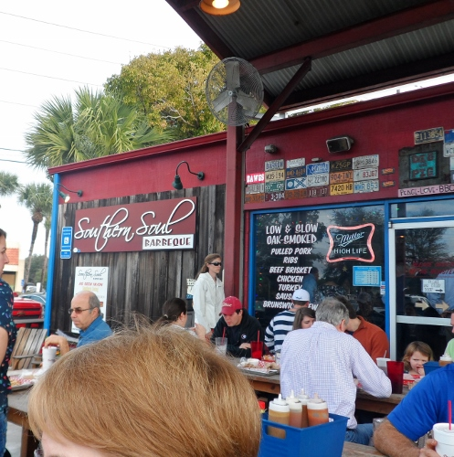 Southern Soul BBQ St Simons Outdoor Seating
