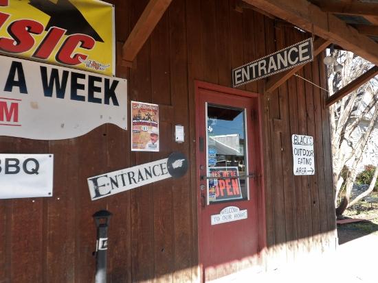 Black's BBQ Entrance Lockhart, TX