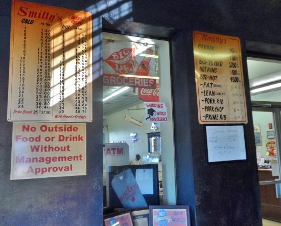 Smittys Market Menu & Prices, Lockhart BBQ