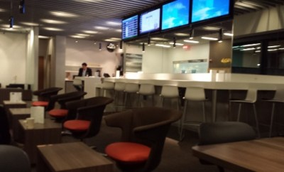 Airspace Lounge BWI interior