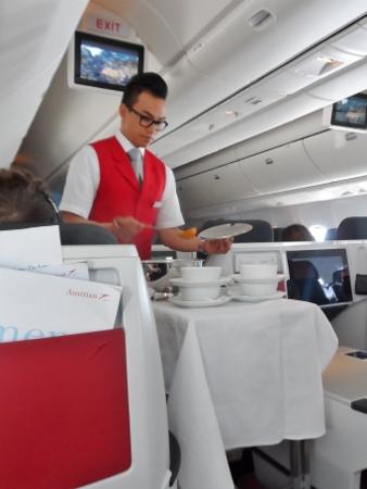 Austrian Airlines Business Class Soup Ladle