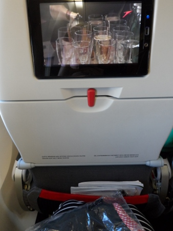 Austrian Airlines In  flight entertainment