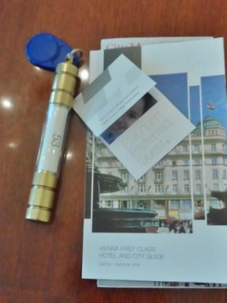 Hotel Bristol Vienna Room Key