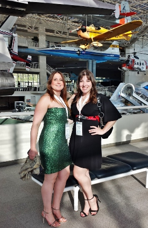 Jeanne Keri Freddie Awards 2014 Museum of Flight
