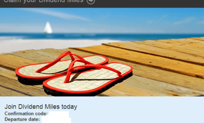 Join Dividend Miles Today