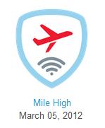 Mile High Badge Foursquare