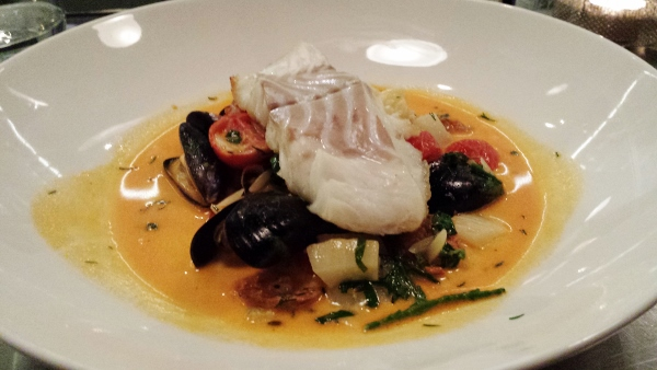 Pichet Dublin Cod Mussels Chorizo