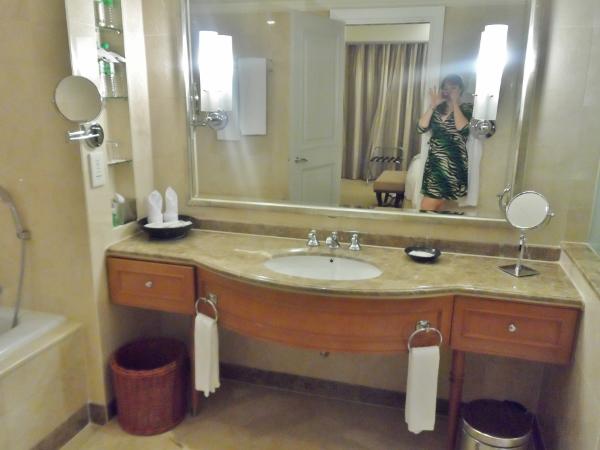 Le Meridien Kuala Lumpur Club Suite Master Bath
