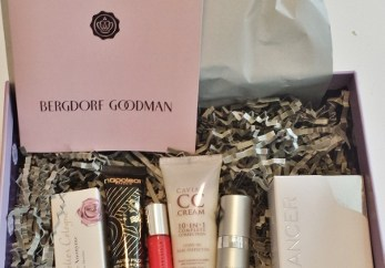 May 2014 Glossybox Bergdorf Goodman contents