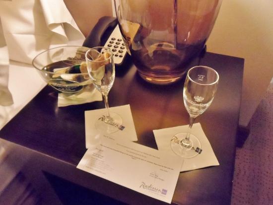 Radisson Blu Style Hotel Vienna Welcome Gift