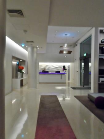 The Morrison DoubleTree Hotel Dublin Lobby