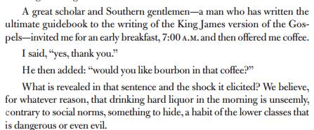 Bourbon for breakfast