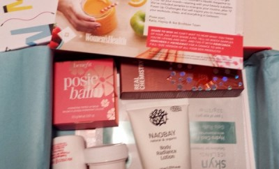July 2014 Women's Health Birchbox Contents