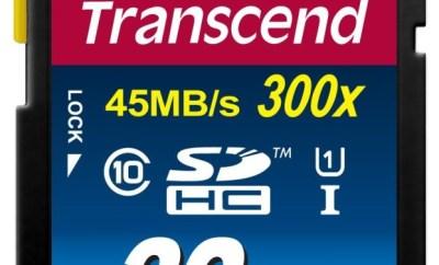 Transcend 32 GB SD card
