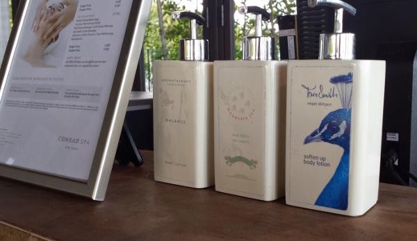 Conrad Koh Samui Check in scent choice