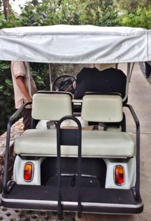 Conrad Koh Samui Golf Cart