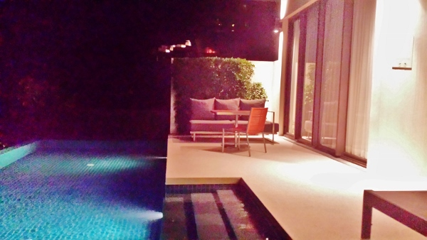 Conrad Koh Samui Horizon Pool North View Night