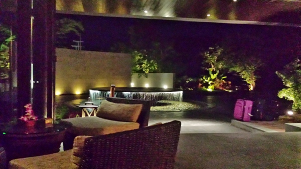 Conrad Koh Samui Night Entrance