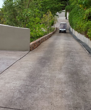Conrad Koh Samui Steep Hills