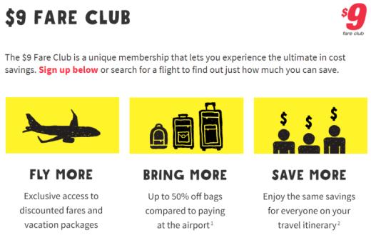 Spirit 9 fare club reviewspirit fare club