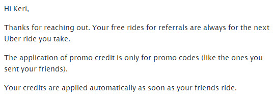 uber free rides for referrals