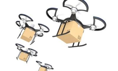 drones amazon google