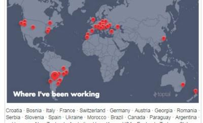 Beneschott Toptal countries map tim ferris interview