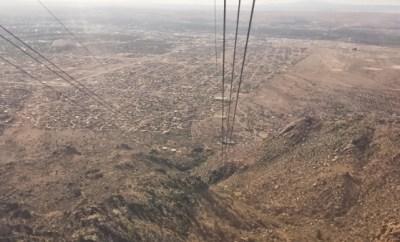 Sandia Peak Tram Albuquerque NM view 2