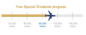 Keri US Airways special dividend progress