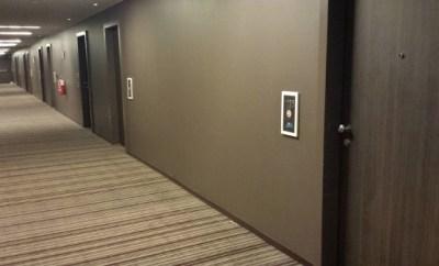 MXP Sheraton Malpensa Hallway