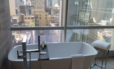 Park Hyatt New York Suite Bathtub
