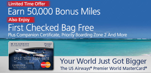 us airways mastercard 50000 bonus offer