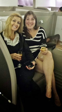 Cathay Pacific First Class JFK YVR Keri Shawna