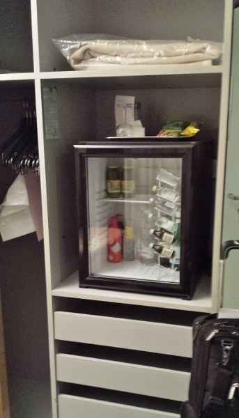Sheraton Catania Hotel & Conference Center Closet Mini Bar