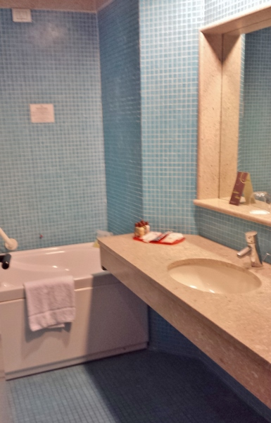 Sheraton Catania Hotel & Conference Center King Sea View Bathroom