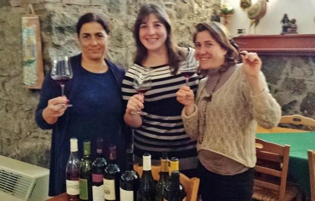 Sicily Wine Tour Tornatore wine tasting lunch Rita Keri Valeria