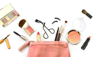 makeup bag cosmetics
