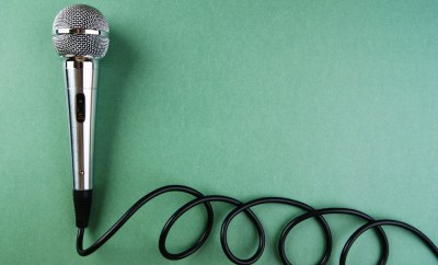 microphone travel interview