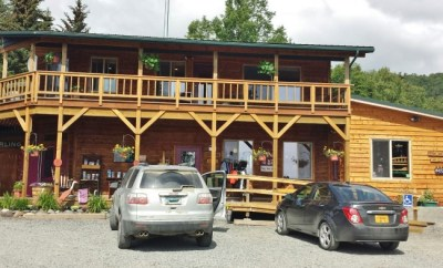 Bear Creek Winery Homer AK tasting room exterior