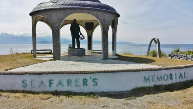 Homer Spit Alaska Seafarers Memorial