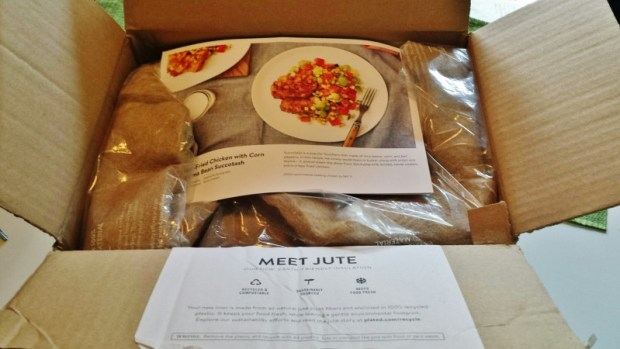 Plated review box packaging