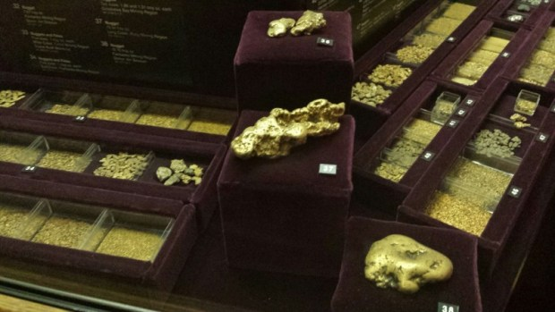 Fairbanks Museum of the North gold nuggets