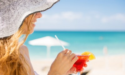 Summer Flight Deals Beach Drink