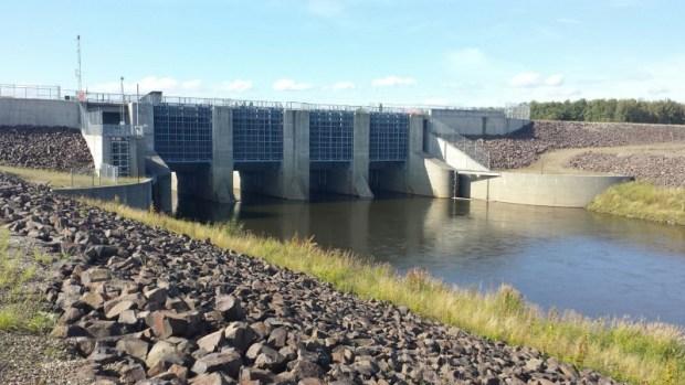 moose creek dam salmon counting chena river